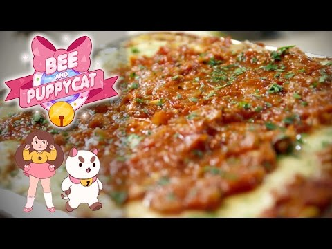 How to Make LASAGNA CASSEROLE from Bee & Puppycat! Feast of Fiction S4 Ep9