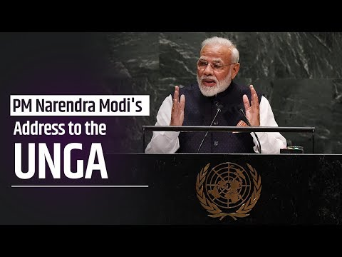 PM Narendra Modi's Address to the UNGA
