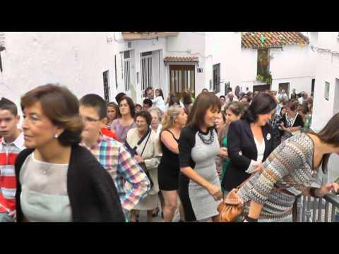 Procesión de San Miguel. Feria de Istán 2012