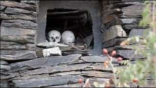 Чечня: Аргунское ущелье, Город мёртвых