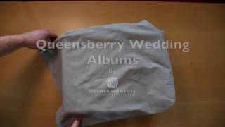 Large wedding album sample by Golden Moments Wedding Photography
