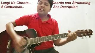 Laagi Na Choote Song | A Gentleman | Guitar | Cover  | Chords | Arijit singh