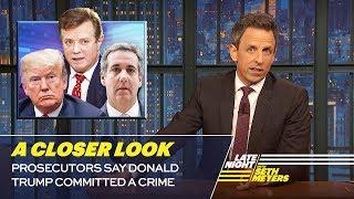 Prosecutors Say Donald Trump Committed a Crime: A Closer Look