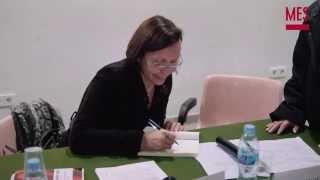 preview picture of video 'Montserrat Tura, resum de l'acte de presentació del seu llibre a Parets del Vallès'