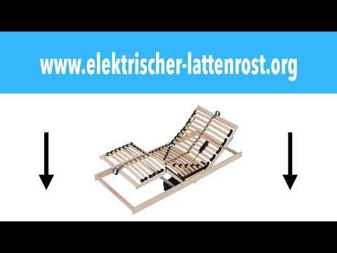 Elektrischer Lattenrost 90x200