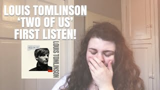 Louis Tomlinson 'Two Of Us'   1D Fan's First Listen  Reaction! | Gee & Alex