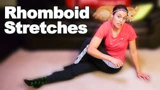 Rhomboid Muscle Pain Stretches - Ask Doctor Jo