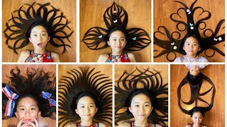 HAIR ART #2 With Janet And Kate!