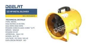 1/2 HP Metal Blower
