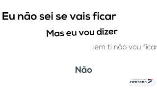 Sara Carreira  Vou Ficar (letra)