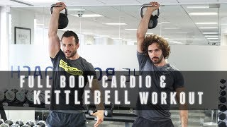 18 Minute Full Body Kettlebell & Cardio Workout | The Body Coach with Technogym Master Trainer by The Body Coach TV