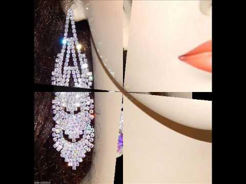 Espectaculares pendientes y brazaletes para bodas