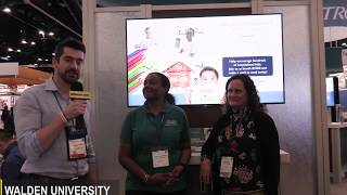 View the video allnurses.com catches up with Walden University