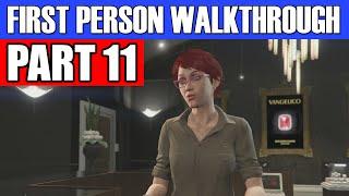 GTA 5 First Person Gameplay Walkthrough Part 11 - LAST CALL! | GTA 5 First Person