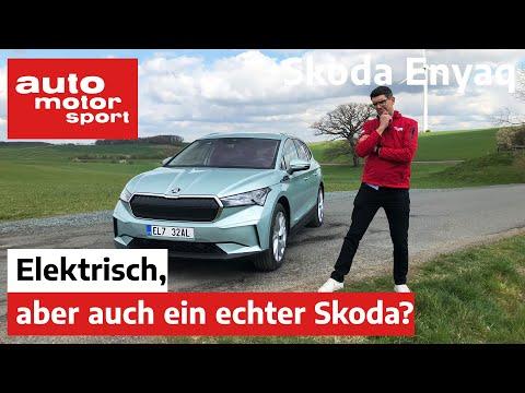 Skoda Enyaq EV (2021) Ist der Tscheche der bessere Volkswagen mit E-Antrieb?  - Fahrbericht   ams