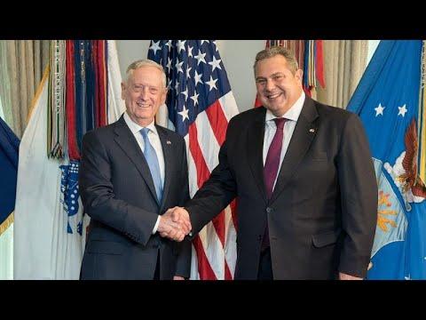 Π.Καμμένος: Ενίσχυση της τριμερούς συνεργασίας Ελλάδας-Κύπρου-Ισραήλ με συμμετοχή ΗΠΑ…
