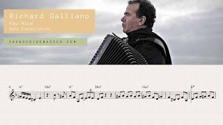 Fou Rire - Richard Galliano solo transcription