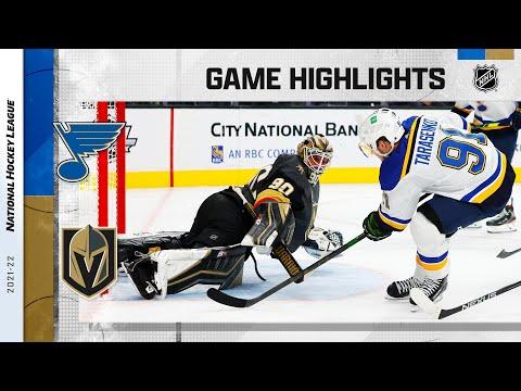 Vegas Golden Knights vs St. Louis Blues</a> 2021-10-21