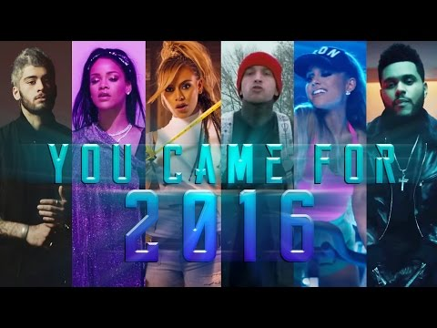 YOU CAME FOR 2016 | Year End Mashup (Megamix) // by Adamusic