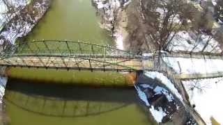 preview picture of video 'Blackfriars Bridge - London, Ontario - Q500 Typhoon'