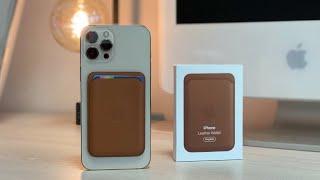 Apple Leder Wallet Review (deutsch)   für alle iPhone 12-Modelle