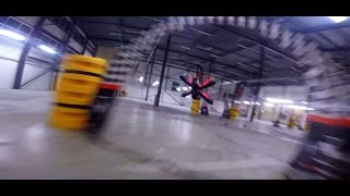 Hall of death - FPV racing in Amsterdam