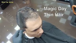 Hair Makeover   How To Change Mens Hairstyle   Hair Loss  Treatment