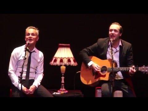 Jop Wijlacker en Dennis Kolen naar Dronten als 'Simon & Garfunkel'