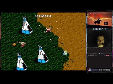 Gun. Smoke прохождение 100% | Игра на (Dendy, Nes, Famicom, 8 bit) 1988. Live cтрим HD [RUS] Capcom