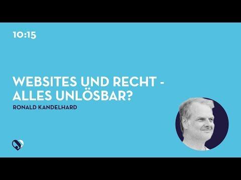 JD19DE - Websites und Recht - alles unlösbar?