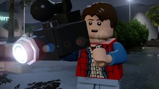 LEGO Dimensions - Back to the Future Level Pack Walkthrough