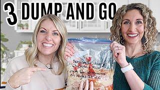 3 EASY Dump and Go Instant Pot Freezer Meals