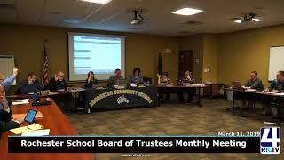 Rochester School Board - 3-11-19