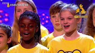 Children In Need Choir 'A Million Dreams'   BBC Children In Need 2018