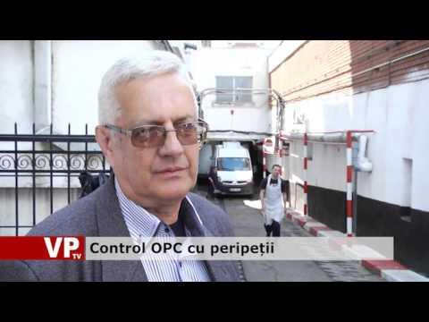 Control OPC cu peripeții