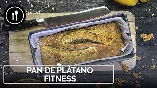 Receta de PAN DE PLÁTANO FITNESS, la versión saludable del clásico americano | Directo al Paladar