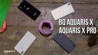 Así son los nuevos bq Aquaris X y X Pro