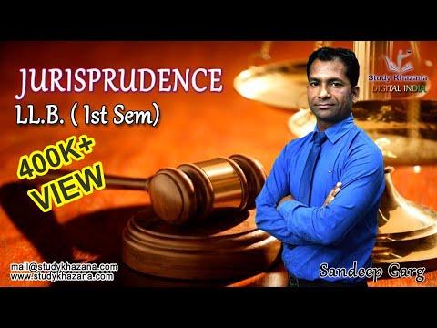 LLB Semester 1- Jurisprudence Online Courses in India   Study Khazana