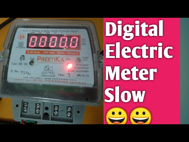 Inside Electric Meter And How It Works Youtube