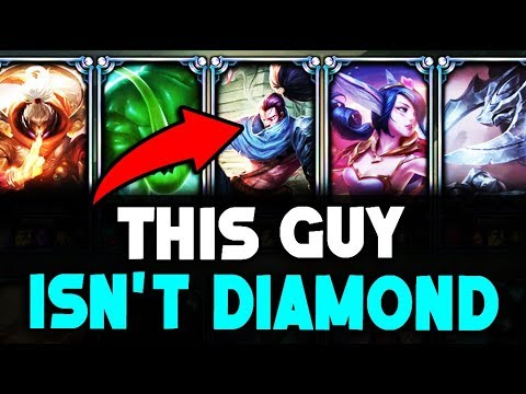 Do They Deserve it? Placing a Silver Yasuo in a DIAMOND Solo Q Game (League of Legends)