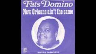Fats Domino  -  New Orleans Ain't The Same  -  (Las Vegas 1968)