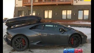 Британець прославився на всю Україну, приїхавши в Карпати на Lamborghini