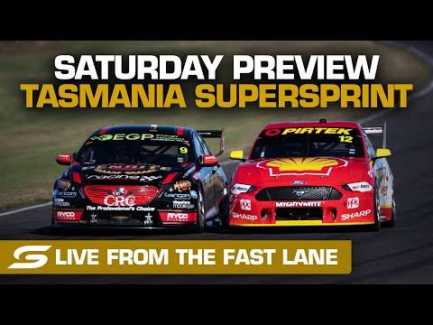 SUPERCARS 2021 タスマニアSuperSprint 金曜日のハイライト動画