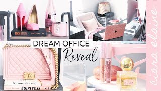 NEW Office Space Tour!   HOME OFFICE TOUR 2019
