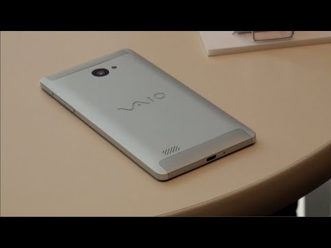 Vaio Phone Biz unveiled