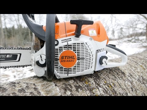 Stihl's New MS 462 Chainsaw – Review
