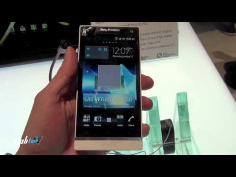Youtube Video Sony Xperia S schwarz