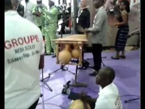 SIAM 2014: Pôle International / groupe musicale Neba Solo du Mali
