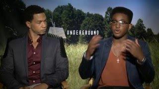 """Underground"" Interview with Alano Miller and Renwick Scott"