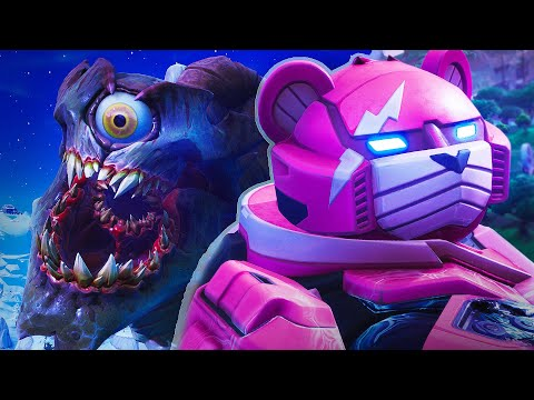 ROBOT VS MONSTER EVENT CINEMATIC - Fortnite Cinematic